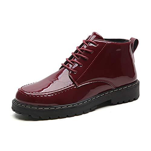 Hong Yi ShES Hongyi gepatenteerde herenlaarzen, Oxford, voor microvezel, leer, antislip, vlak, werkschoenen, vechtschoenen, waterdicht, veters, up toon, rond, wandelschoenen voor heren