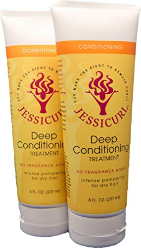 Jessicurl, Deep Treatment (No Fragrance Added, 2 Pack)