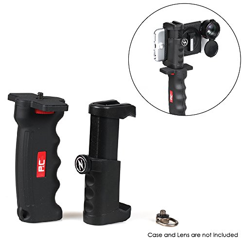 Photography & Cinema Pistol Grip KIT - Ergonomic Stability/Tripod Cold Shoe Mount for Camera or Phone/Easy Adjust & Clamp/Versatile Attachment/Professional Photo & Video Shots