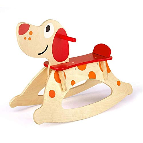 Baby Rocking Horse Ride Toy, Rocking Horse Child Puppy Horse Toy One Year Old Birthday Gift