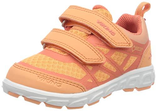 viking Veme Vel GTX, Zapatillas Unisex niños, Orange Coral 5153-Antiquerosa, 28 EU