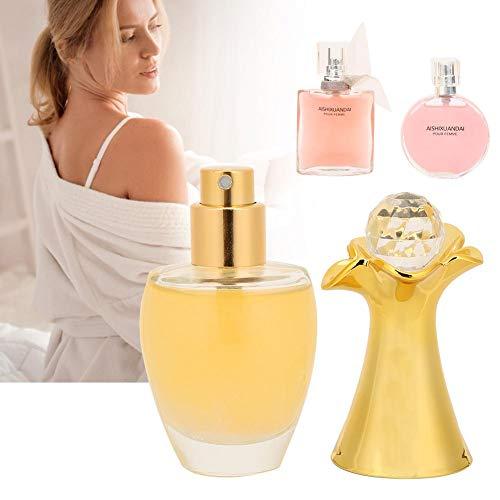 Kit de perfume para mujer de 3 piezas, fragancia natural de larga duración, juego de perfume para mujer, caja de regalo de perfume para mujer