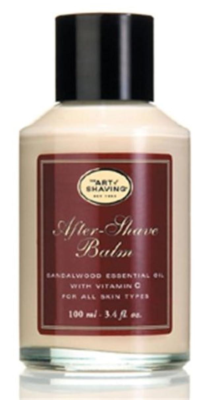 男らしさ創傷家主The Art Of Shaving After-Shave Balm With Sandalwood Essential Oil (並行輸入品) [並行輸入品]