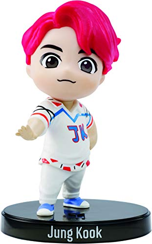 BTS x Mattel Mini-Figurine Vinyl Jungkook, à l'Effigie du Membre du Groupe de K-pop, Figurine Miniature à Collectionner, GKH75