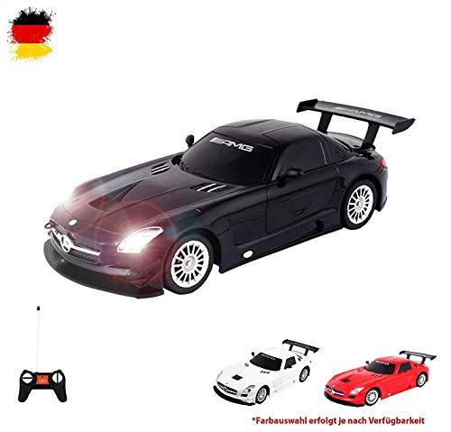 Mercedes-Benz SLS AMG GT3 - ferngesteuertes Modellauto Lizenzmodell Rennwagen Fahrzeug Maßstab 1:24 inkl. Fernsteuerung