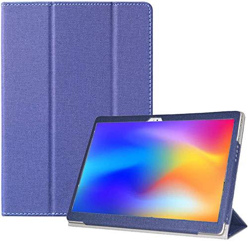 RLTech Hülle für Alldocube X Neo, Ultra Schlank Schutzhülle Etui mit Standfunktion Smart Case Cover für Alldocube X Neo 10,5 Zoll, Blau