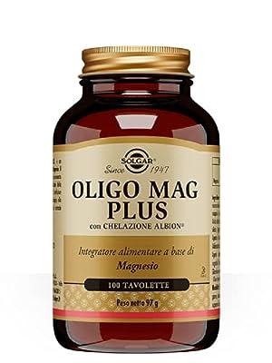 Solgar Chelated Magnesium Tablets - Pack of 100 by Solgar
