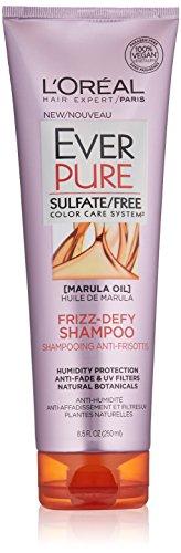 L'Oréal Paris EverPure Sulfate Free Frizz Defy Shampoo, 8.5 Fl. Oz