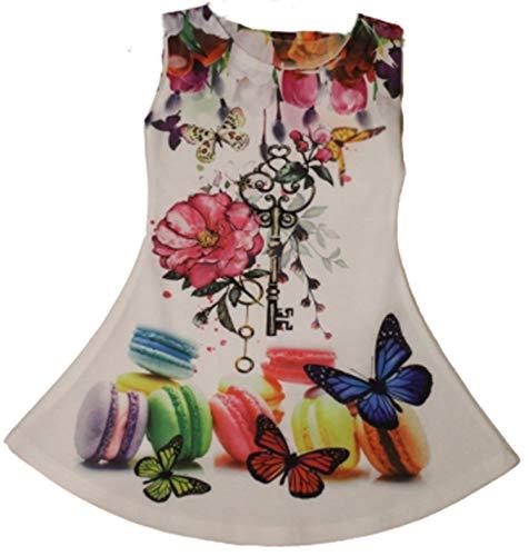 Schoenundtextilshop zomerjurk met kleurrijke print