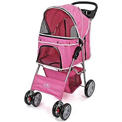 Easipet Pet Stroller Available in 5 (Black) 4