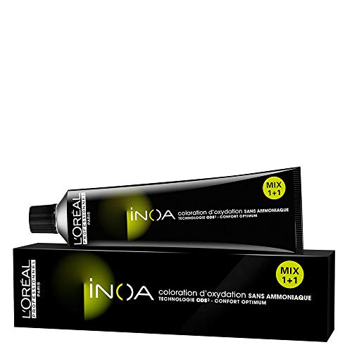 L'Oréal Inoa Haarfarbe 6,34 Dunkelblond Gold Kupfer, 84 g