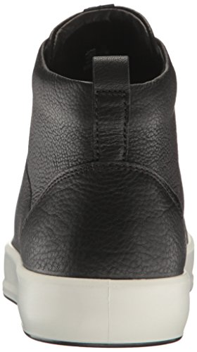 ECCO ECCO Soft 8 Ladies 440533, Women's High Top Sneaker High Top Sneaker, Black, 5-5.5 UK (38 EU)