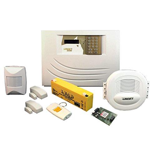 Lince 9539-GOLD-KIT/GSM Kit di Allarme Via Radio Serie Gold 869, Bianco