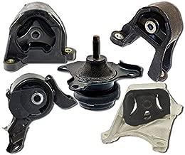 K0986 Fits 2003-2006 Honda Element 2.4L 4WD w/MANUAL Motor & Trans Mount Set 5PCS : A4549, A4573, A65010, A4504, A4528