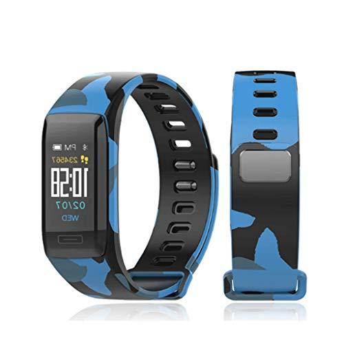 XZ15 multifunctioneel smart touchscreen mannen en vrouwen Sport Pacer Wechat weer hartslagmeting slaapbewaking horloge (60 * 22 mm)