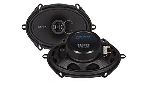 Crunch DSX572 Oval 2-Wege 120 W Auto-Lautsprecher (2-Wege, 120 W, 60 W, 4 Ohm, 8,1 cm, 12,9 cm)