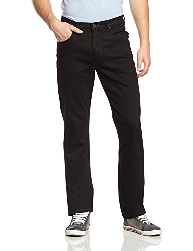 Lee Herren Brooklyn Straight Jeans, Clean Black, 34W / 32L