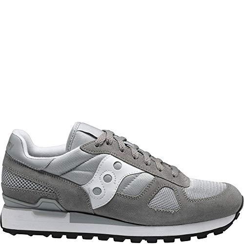 """Sneakers Saucony """"Shadow Original"""" in Camoscio Unisex SAUCONY cod.2108 Grigio - bianco, taglia 38"""