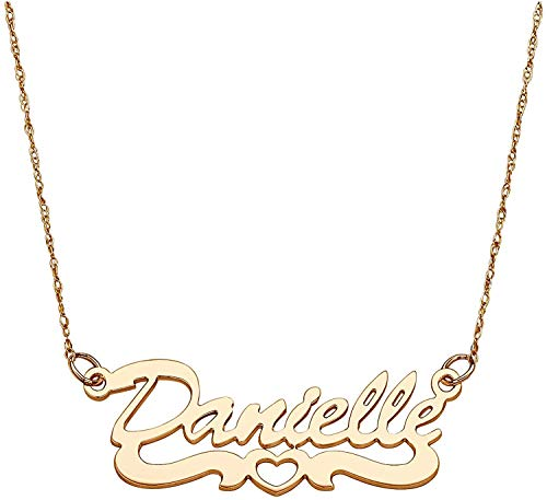 SHAREMORE Name Necklace Personalized Custom with Customized for Made Any Name Pendant Necklace Personalized Name Necklaces necklace name personalized