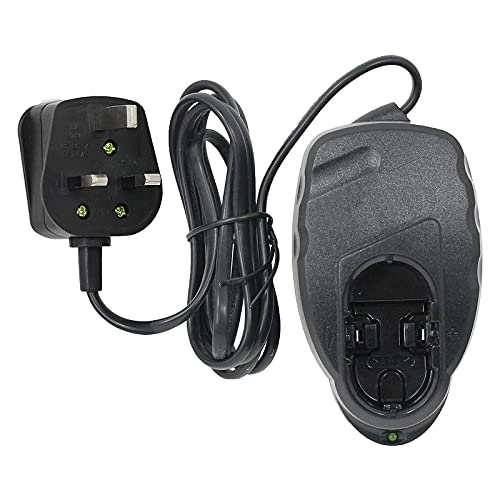 Spares2go Battery Pack Charger Pod UK Cable 14.4v compatible with Qualcast HM 41 Hedge Trimmer Power Tools