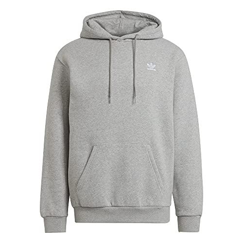 adidas Sudadera con capucha. gris XL