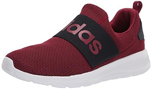 adidas Men's Lite Racer Adapt 4.0 Trail Running Shoe, Collegiate Burgundy/Collegiate Burgundy, 8.5