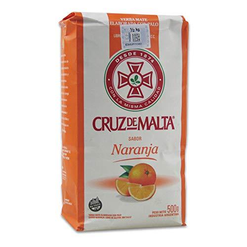 Yerba Mate Cruz de Malta Arancia 500 gr