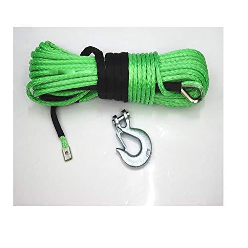 Fácil de instalar Verde 10mm * 30m ATV cabrestante eléctrico amplificador de...