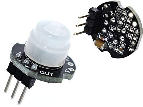 CANADUINO Interruptor Compatible con Arduino etc. Movimiento PIR Mini Sensor del Detector