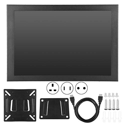 12.3' Portable Monitor, 5mm Ultra Thin IPS Full HD 2K Display, 72% High Color Gamut Gaming Screen with HDMI/VGA Port, 178° Wide Viewing Angle & 16:9 Screen (US)