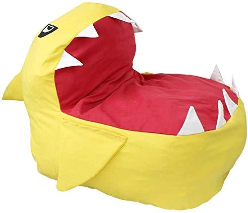ALWWL Sitzsack Sofa, Große Sitzsack Hai, Stofftier Lagerung Sitzsack, Sitzsack Stuhl, Waschbar und Leicht zu Reinigen, Wird für Stofftiere, Kleidung und Handtücher verwendet