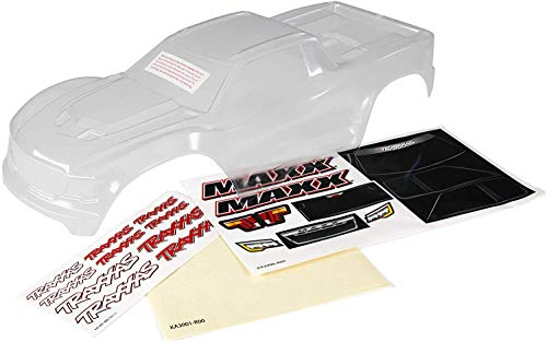 Traxxas 8914 Body, Maxx Heavy Duty (Clear, Untrimmed, Req Painting)/Masks&Decals