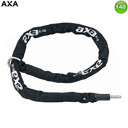 Axa RLC140 fiets extra ketting voor frame slot zwart