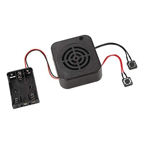 Caja de grabación de Bricolaje, módulo de grabación de Voz de 3W 2/4 Minutos Módulo de Caja de Sonido de Voz grabable multifunción para Animales de Peluche/Regalo/Juguete(2 Minutos)