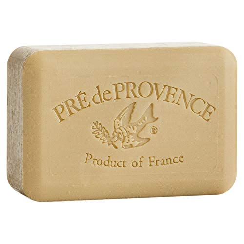 Pre de Provence Artisanal French Soap Bar Enriched with Shea Butter, Verbena, 250 Gram