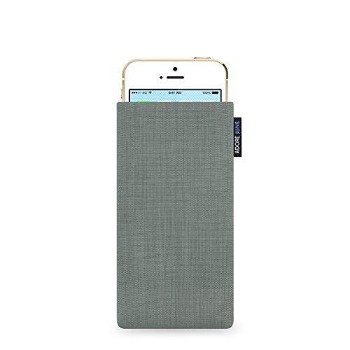 Adore June Classic - Funda para Apple iPhone 5 / 5s y iPhone SE - Original Cordura - Plateado