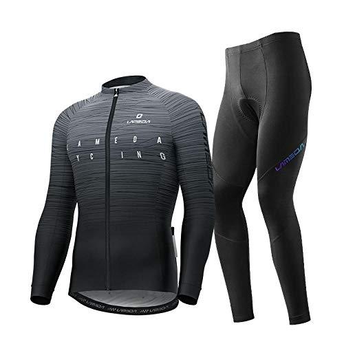 CptBtptPyy MTB Ciclismo Maillots Pantalones Cortos Culotes,Ropa de Ciclismo Primavera, otoño e...