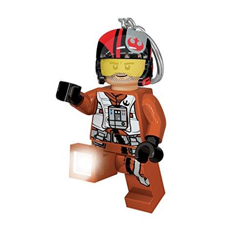 LEGO LED–lg0ke95–Star Wars–Llavero LED PoE Dameron , color/modelo surtido