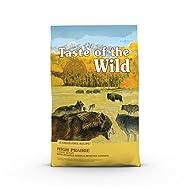 Taste of the Wild High Prairie Grain-Free Roasted Bison & Venison Dry Dog Food, 5 lbs.