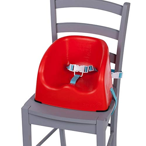 Safety 1st Essential Booster - Elevador trona, color rojo (Red lines)
