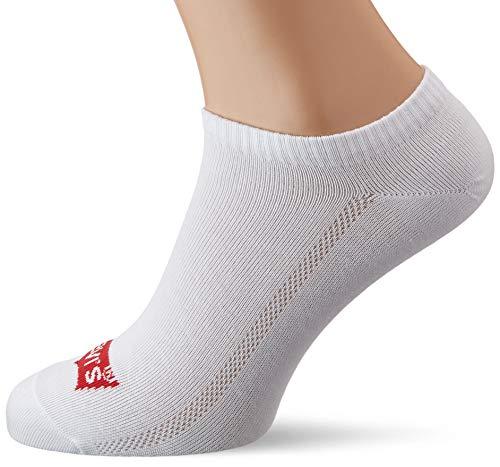 Levi's Herren Levis 168SF Low Cut 3P Socken, Weiß (White 300), 39/42 (Herstellergröße: 039)