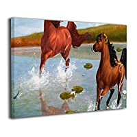 Skydoor J パネル ポスターフレーム 馬 インテリア アートフレーム 額 モダン 壁掛けポスタ アート 壁アート 壁掛け絵画 装飾画 かべ飾り 30×20