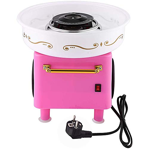 Review Of GRKD Cotton Candy Machine for Home, Cotton Candy Machine with Chopsticks and Spoon, Made o...