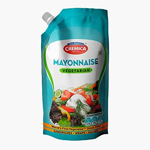 Cremica Mayonnaise Pouch, Veg, 875g