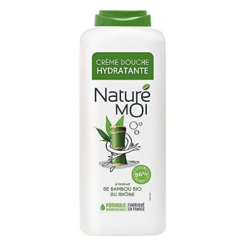 Naturé Moi – Crème douche à l'extrait de bambou bio du Rhône – Hydrate et nourrit les peaux normales à sèches – 400ml
