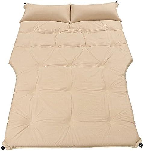 ASL Lit Gonflable Bed SUV Car, Outdoor Sleeping Mat Travel Bed Car Mat Camping Housse Anti-humidité Fournitures de Voiture de Vacances Portable Folded 190  126cm qualité (Couleur    3)