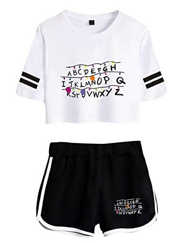 Conjuntos Mujer Top y Pantalones Cortos,...