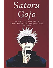 Satoru Gojo Notebook: Is one of the main protagonists of Jujutsu Kaisen, Jurnal 120 pages 6×9 inch