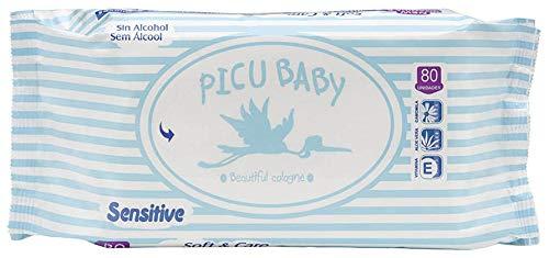Picu 348040 - Picu baby toallitas humedas 80 toallitas, unisex