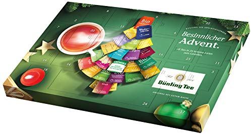 Bünting Tee Adventskalender, 1er Pack (1 x 102,6 g)